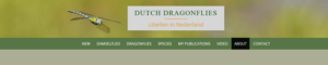 Website Dutch dragonflies